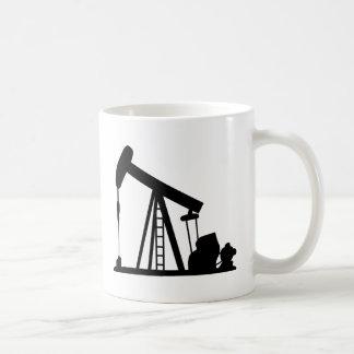 Oil Crane Coffee Mug