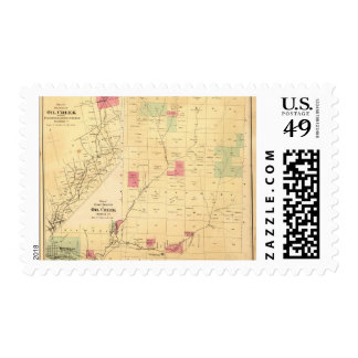 Oil Creek branches Postage