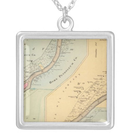Oil Creek Crawford County and Venango County Pa Necklace