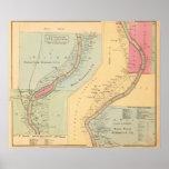 Oil Creek Crawford County and Venango County Pa Print