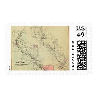 Oil Creek, TitusvilleOil Creek Lake Postage Stamp