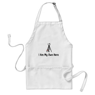 Oil Drilling Hero Adult Apron