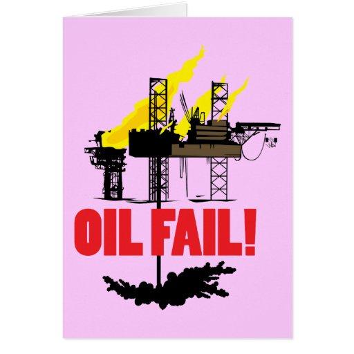 Oil Fail Card