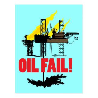 Oil Fail Postcard