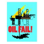 Oil Fail Postcards