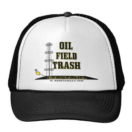 Oil Field Trash Canada,Oil Field Hat,Oil Rig,Oil