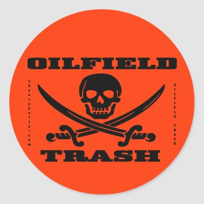 Hard  Stickers on Oil Field Trash Hard Hat Decal Oilman Oil Gas Rig Stickers From Zazzle