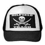 Oil Field Trash,Hat,Skull & Crossbones,Oil,Gas
