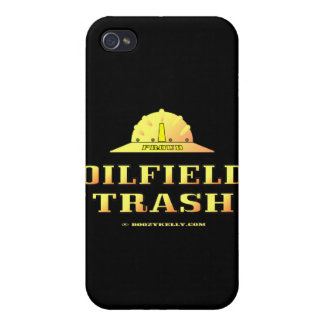 Oil Field Trash,iPhone Case,Oil Patch Gift,Rig iPhone 4 Case