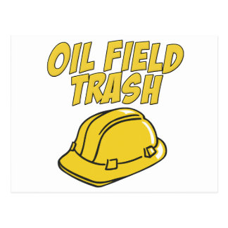 Oil Field Trash Postcards