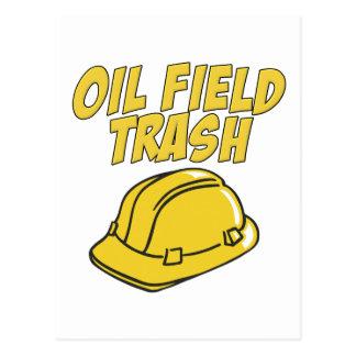Oil Field Trash Postcard
