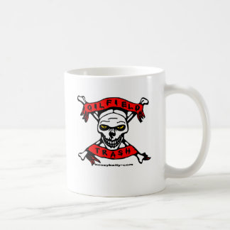 Oil Field Trash Skull & Crossbones  Mug