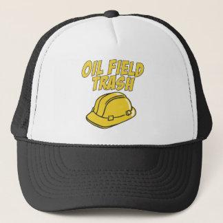Oil Field Trash Trucker Hat