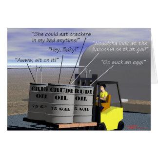 Oil Fields - Crude Oil Card