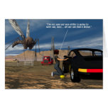 Oil Fields - Mosquito Driller Greeting Cards