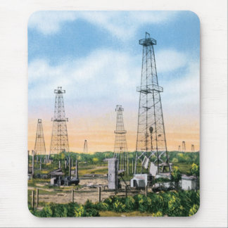 Oil Fields Mouse Pad