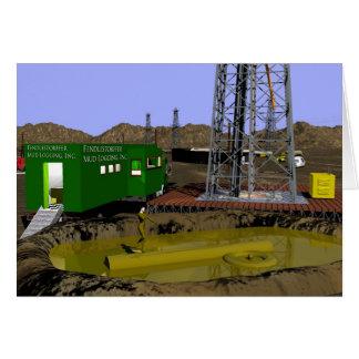 Oil Fields - Mud Logging Card