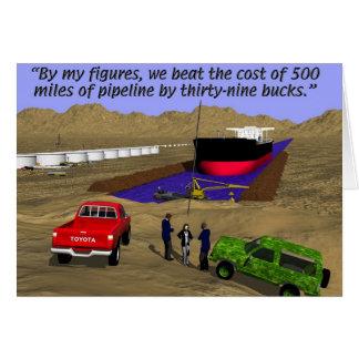 Oil Fields - Pipeline - Keystone Card