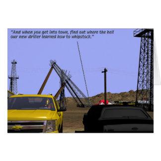 Oil Fields - Whipstocking Card
