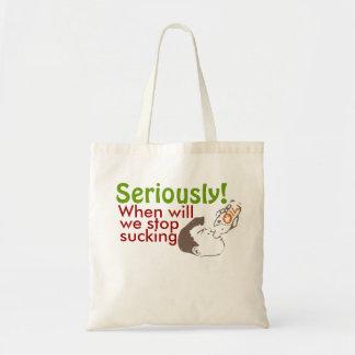 Oil Gas humor Bag