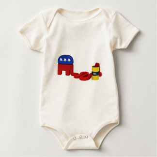 Oil hungry Republicans Baby Bodysuit
