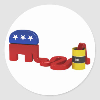 Oil hungry Republicans - Stickers