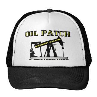 Oil Jack,Oil Patch Hat,Roughneck Present,Oil,Rig Trucker Hat