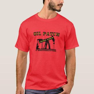 Oil Jack,Oil Patch Red T-Shirt,Derrickman Gift,Rig T-Shirt