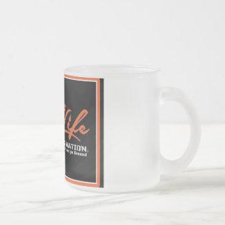 OIL LIFE Original Frosted Glass Coffee Mug
