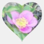 Oil-Look Wild Rose Sticker