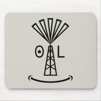 Oil Makes Me Smile Mouse Pad