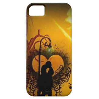 Oil My love mom amour _iphone5 iPhone 5 Cases