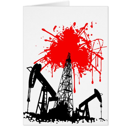 Oil of blood card