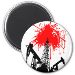 Oil of blood refrigerator magnets