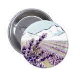 Oil of Lavender - Grasse France 2 Inch Round Button