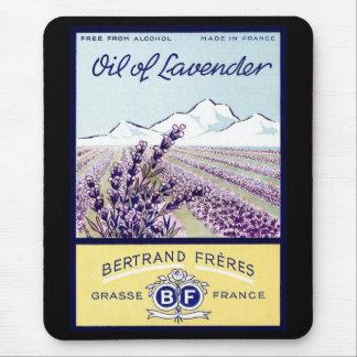 Oil of Lavender - Grasse France Mouse Pad