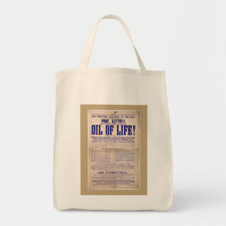 Oil of Life for aches and pains Tote Bag