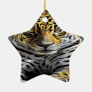 Oil Painting Ceramic Ornament