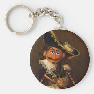 Oil Painting Keychain