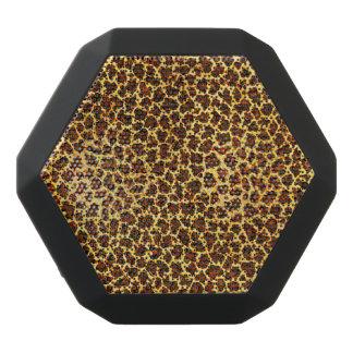 Oil Painting Look Leopard Spots Black Bluetooth Speaker