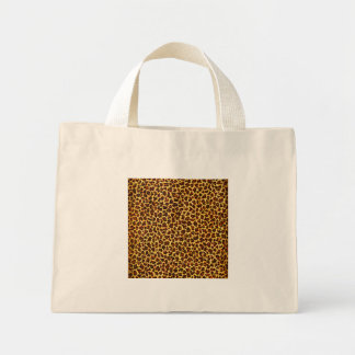 Oil Painting Look Leopard Spots Mini Tote Bag