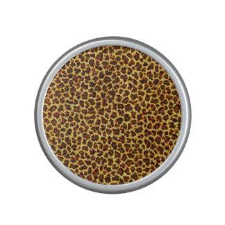Oil Painting Look Leopard Spots Speaker
