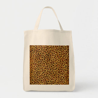 Oil Painting Look Leopard Spots Tote Bag