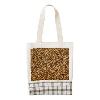 Oil Painting Look Leopard Spots Zazzle HEART Tote Bag