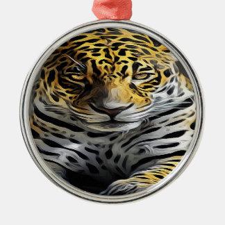 Oil Painting Metal Ornament