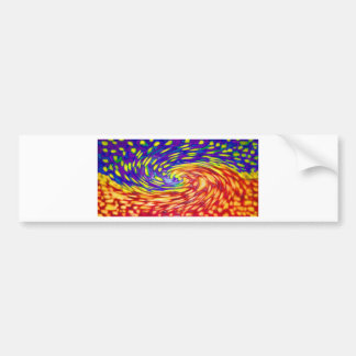 oil painting modern abstract paintings home office bumper sticker