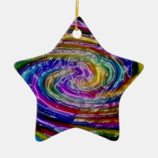 oil painting  modern office home abstract painting christmas tree ornaments