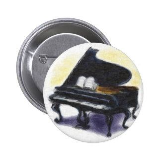 Oil Painting : My Piano Button