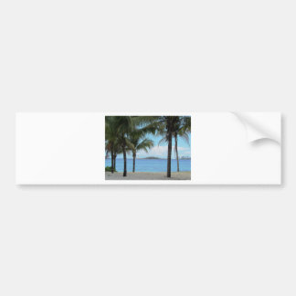 Oil Painting Nassau Bahamas Bumper Sticker
