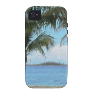 Oil Painting Nassau Bahamas iPhone 4 Covers